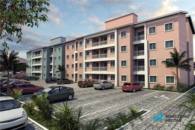 Apartamento residencial à venda, Planalto Horizonte, Horizonte.