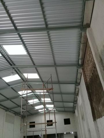 Montagem calhas de zincos e alumínios e telhados fabricação peças de inox