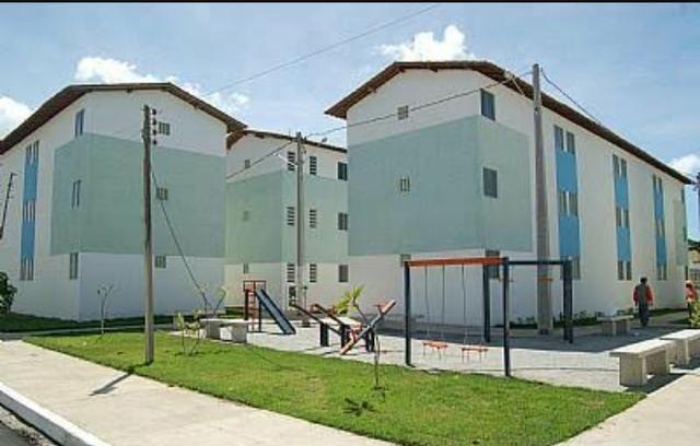 Vendo apartamento uma sala, dois quartos, um banheiro,. uma cozinha e uma área de serviço