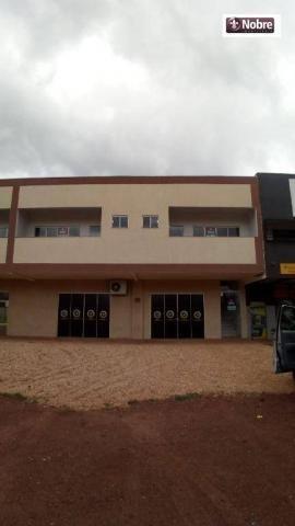 Sala para alugar, 34 m² por r$ 570,00/mês - plano diretor sul - palmas/to