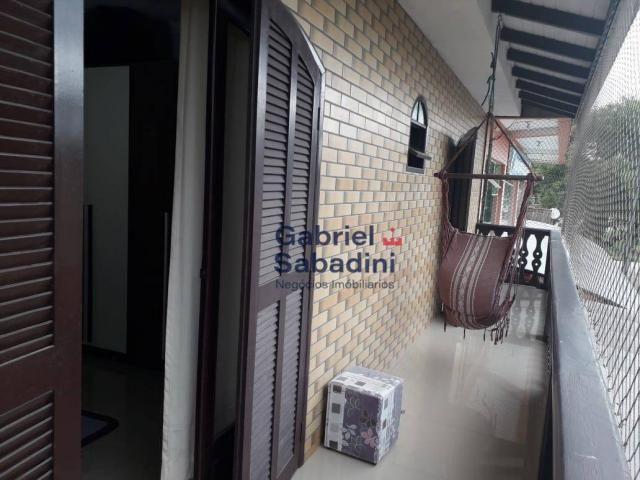 Sobrado com piscina e 4 dormitórios, 1 suítes com ar. locação diária, 135 m² por r$ 1.000, - Foto 7