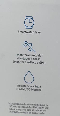Relógio Samsung active watch - Foto 4