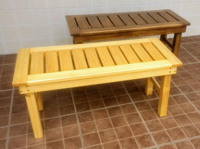 Banco de madeira maciça - Foto 2