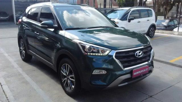 HYUNDAI IMP CRETA PULSE 2.0 16V AT6 FLEX Verde 2017/2017