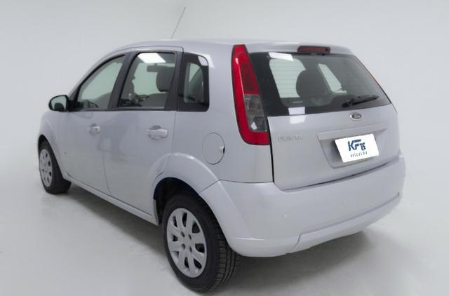 Fiat Fiesta Rocam 1.0 Prata 2014 Completo - Foto 2