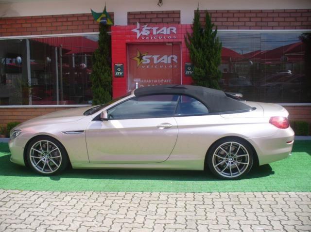 BMW 650I Cabrio Aut. Prata 2012 Starveiculos - Foto 9