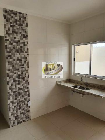 Casa à venda com 2 dormitórios em Nova três lagoas, Três lagoas cod:410 - Foto 10