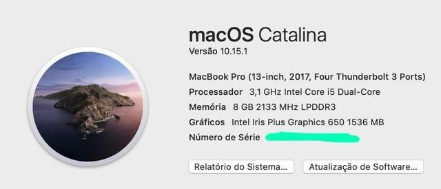 "Macbook Pro touchbar 13"" apenas 8.399,00 - Foto 5"