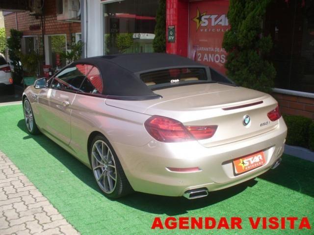 BMW 650I Cabrio Aut. Prata 2012 Starveiculos - Foto 2