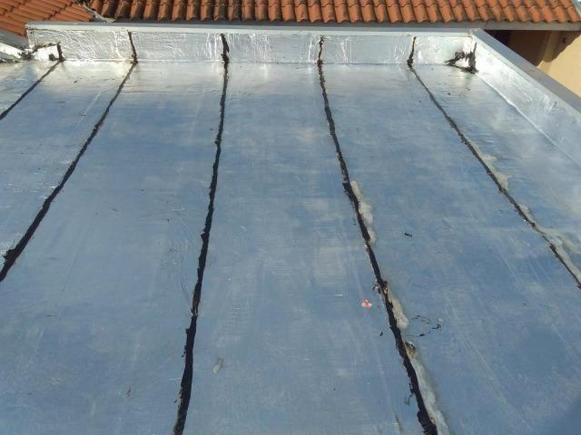 Impermeabilizações em telhados e terraço com manta asfaltica
