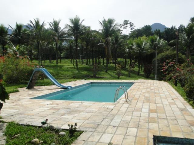 Guapimirim Sítio 97.000m², sede com 4 Quartos, piscina e campo - Foto 3