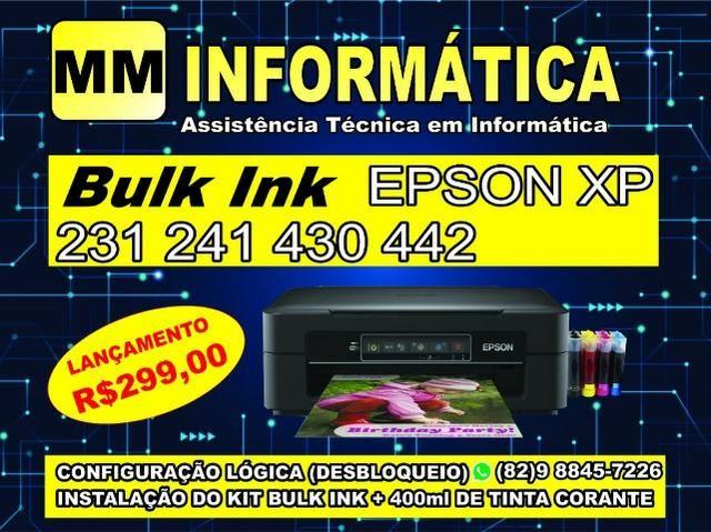 Epson xp 241,231,214, desbloqueio