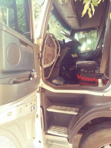 Volvo fh 540 6x4 com bicaçamba - Foto 7