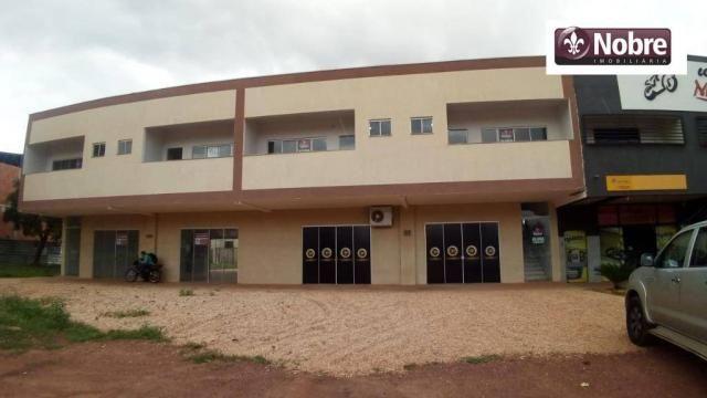 Sala para alugar, 36 m² por r$ 570,00/mês - plano diretor sul - palmas/to