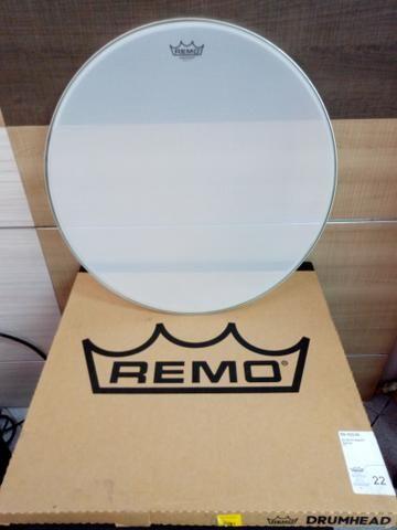 "Pele de bumbo Remo 22"" Silent ( Silentstroke )"