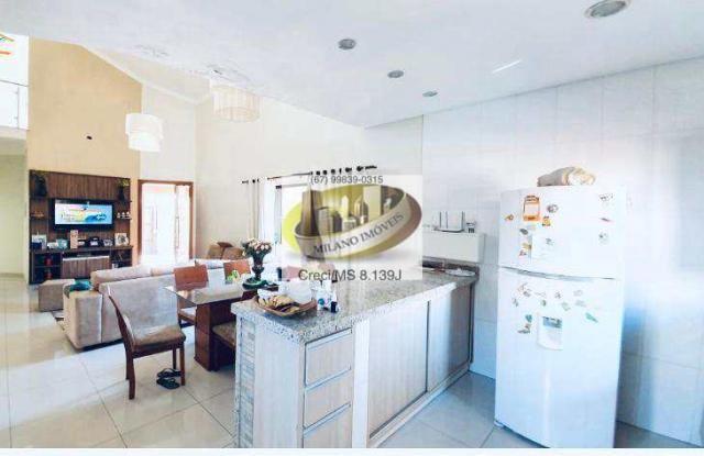 Casa à venda com 3 dormitórios em Ipê, Três lagoas cod:391 - Foto 5