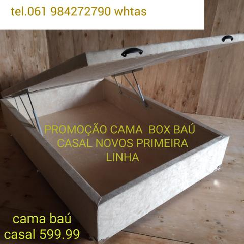 Cama baú novos direto da fabrica promoção leia o anúncio - Foto 4