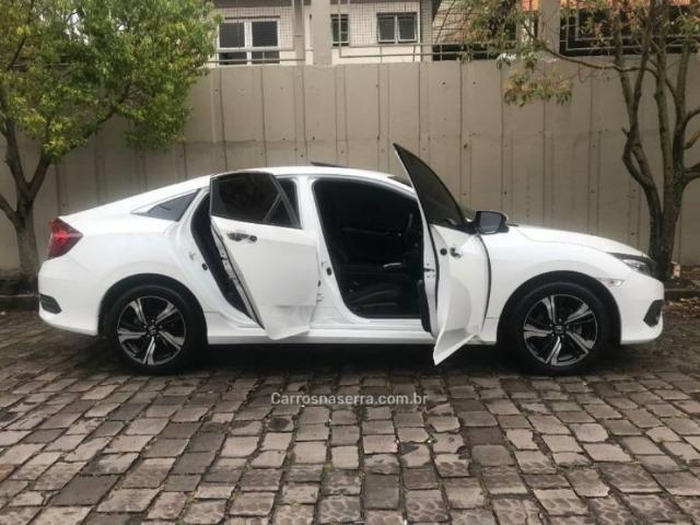 Civic 1.5 16v turbo touring cvt - 63 mil kms automático único dono - Foto 7