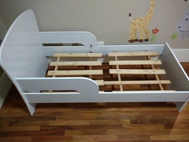 Mini cama branca