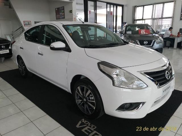nissan versa 1.6 sl at - 2019