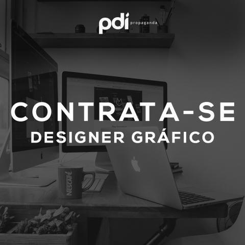 Contrata-se Designer Gráfico