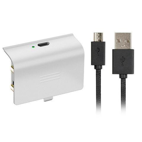 Bateria Recarregavel para Controle do Xbox One Branco