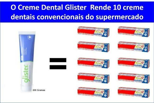 Creme Dental Glister Multi Action Amway 200g Eua Beleza E Saude