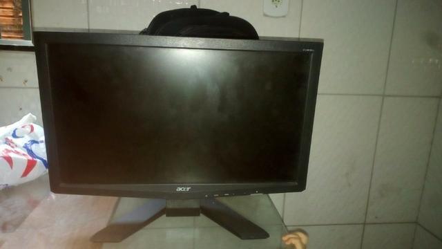 Monitor Lcd Acer X193w 19 Polegadas Vga Dvi