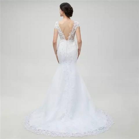7c6890de6 Vestido de noiva sereia renda longo novo - Roupas e calçados - St ...