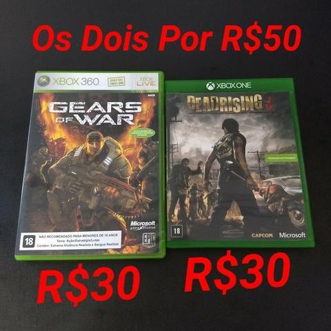 Gears Of War e Dead Rising 3 (R$30 Cada Ou R$50 nos Dois)