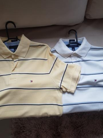 27b49d6406 Polo Tommy Hilfiger. tamanho M lacoste. Abercrombie