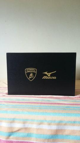 Tênis Mizuno wave lamborghini prophecy original Novo na caixa unissex n41