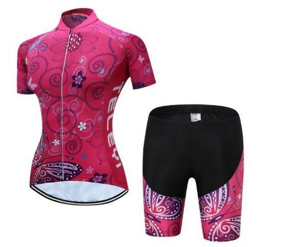d7f20b3b8 Roupa de ciclismo feminina bermuda + camisa - Ciclismo - Cj Res ...