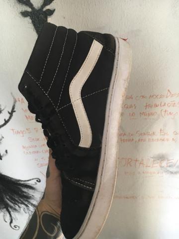 9e91ae39c1 Vans sk8-hi número 42 (primeira linha) - Roupas e calçados - Jardim ...