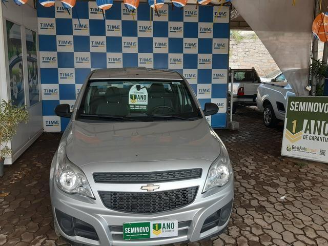 Chevrolet Montana 2017/2018 Ar e direção 1.4
