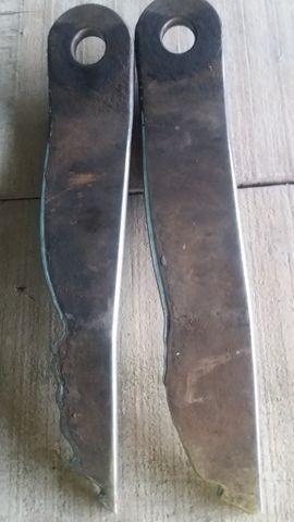 Par facas roçadeira lavrale