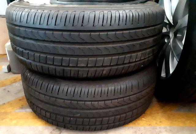 Jogo de Rodas aro 19 originais Volvo com 4 pneus Pirelli zero! - Foto 5