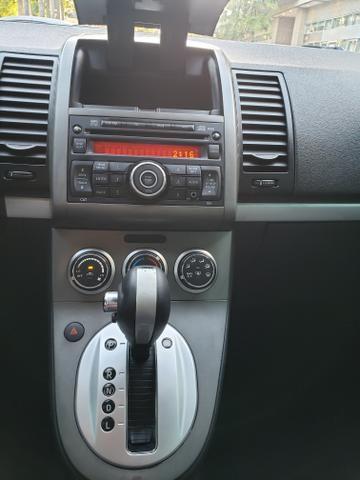 Nissan sentra (com gnv g5) automático ( finan.ent. 7 mil )aceito trocas - Foto 11