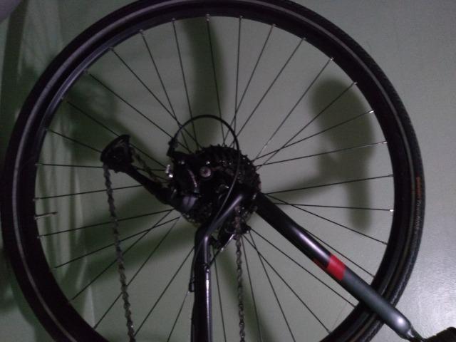 Bike City Tour ! Câmbio Acera, 27 M, Híbrida! Super Nova - Foto 2