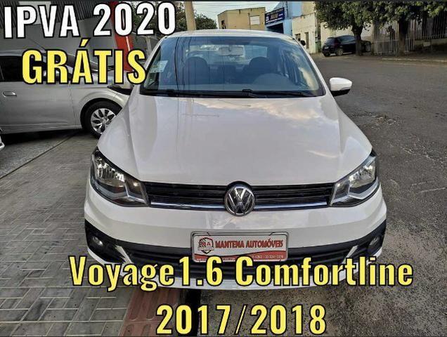 VW Voyage 1.6 Comfortline 2017/208 IPVA 2020 Grátis!!!!