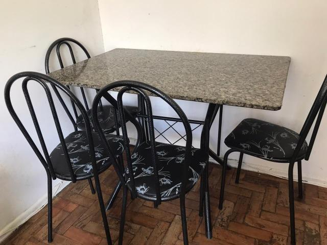 Conjunto Mesa Retangular com 4 Cadeiras Cadeiras - Foto 2