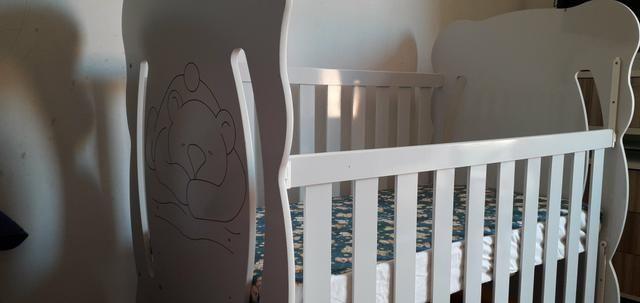 Berço de bebê Mini cama serve até 4 anos - Foto 4