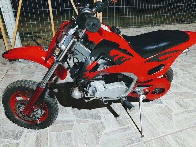Mini moto Cross infantil 49cc