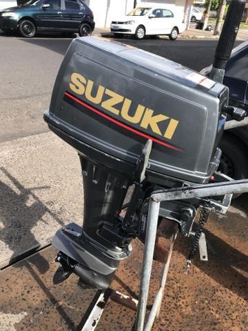 Motor Suzuki 15 hp - Foto 3