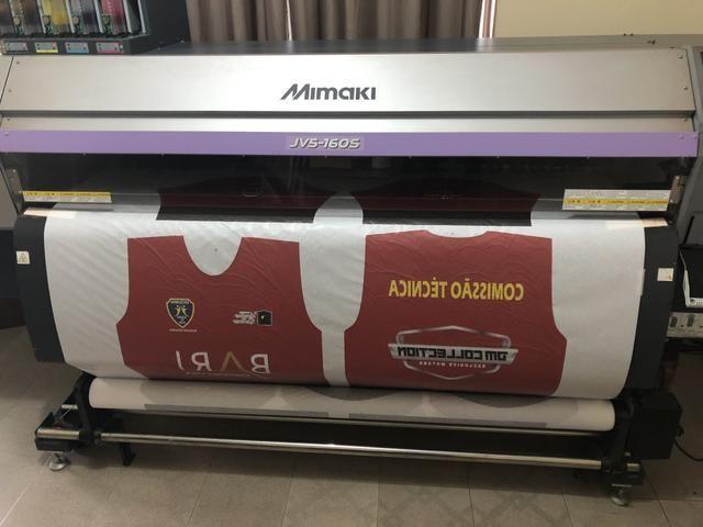 Plotter Mimaki JV5 160 Impressora Sublimação - Foto 3