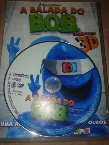 DVD a balada do Bob 3d