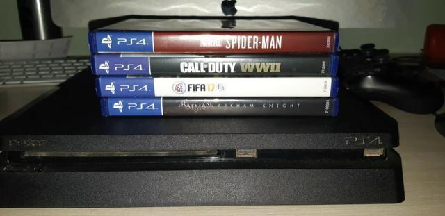 Playstation 4 500 Gb Em Ótimo Estado - Foto 4