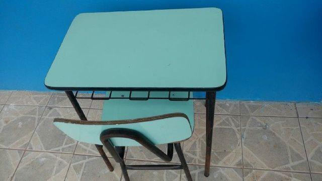 Mesas e Cadeiras Escolares Usados em Alvorada - Foto 4