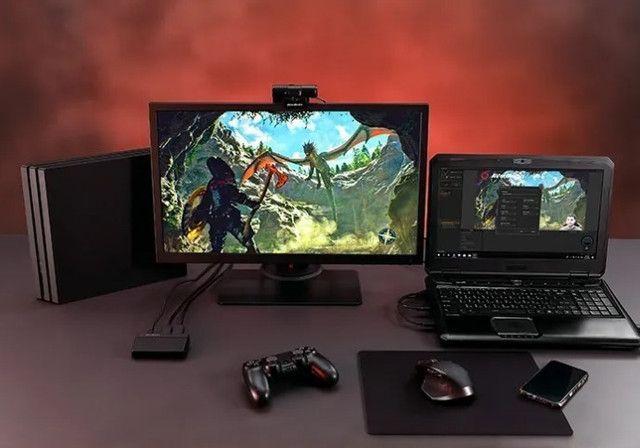 Placa De Captura Usb Hdmi Avermedia Live Gamer Lacrada Garantia - Loja Natan Abreu - Foto 2
