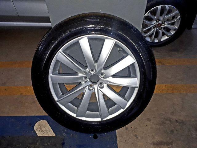 Jogo de Rodas aro 19 originais Volvo com 4 pneus Pirelli zero! - Foto 7